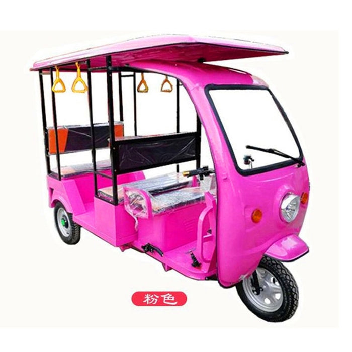 Factory price of electric tricycle for passengers electric tricycle adult electric Tuk Tuks with solar