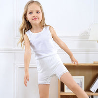 Girls Safety Short Cotton Teenageres Shortss For Girls Lace Girl Underwear Child Panties Clothing