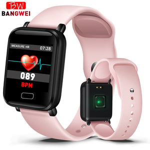 2019 New Women Smart watches Waterproof Sports For Iphone phone Smartwatch Heart Rate