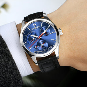 Original CARNIVAL Fashion Men Watch Top brand Multifunction Automatic Watch Men Calendar Waterproof Luminous Mechanical watches