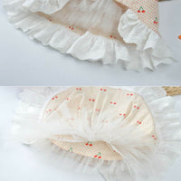 Princess Dog Dress Cherry Pet Dogs Dress Party Puppy Wedding Dresses Chihuahua Yorkshire Clothing for Dogs Costume Disfraz Perro