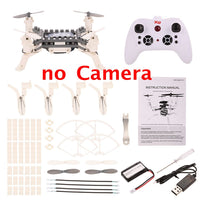 XG171 DIY Building Block Drone Height Hold One Key Return Clip Quadcopter Toy Mini RC Drone