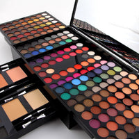 Miss Rose Professional Makeup 180 Colors Matte Shimmer Palette Powder Blush Eyebrow Contouring Beauty Kit Box MH88
