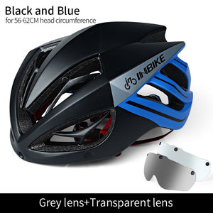 INBIKE Helmet Cycling Bike Ultralight helmet Integrally-molded Breathable Riding Mountain