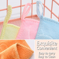Baby Towel Newborn Muslin Handkerchiefs Cloth Squares Newborn Towels for Baby Wipes New Born Washcloth for Children Reusable