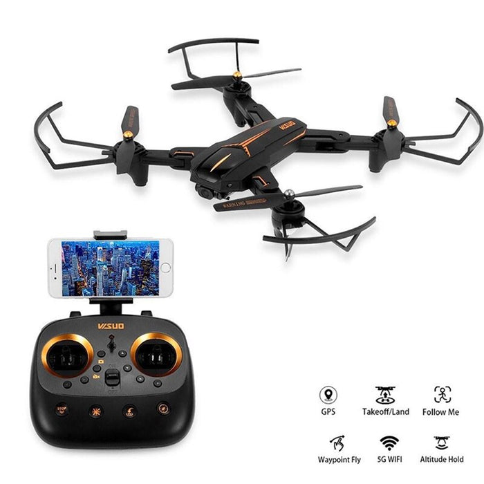 Camera Drone 5G WiFi FPV 4K Drone GPS Positioning RC Helicopter Smart Flow Long Flight Time