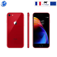 "France Original Apple iPhone 8 64GB/256GB Hexa-core IOS 3D Touch ID LTE phone 12.0MP 4.7"" inch Fingerprint smartphone ship spain"