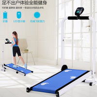 Multi-functional Indoor Folding Walking Machine for Mechanical Treadmills Silent Mini Domestic Treadmills