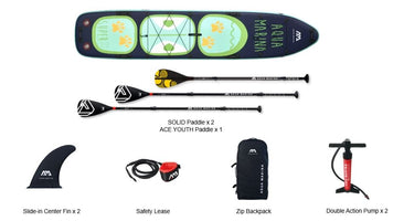 Aqua Marina 2020 version upgrade Super trip TANDEM stand up paddle board sup surfing inflatable board 427 x 86 x 15cm