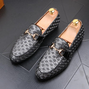 2019 Men Shoes  Moccasin Genuine leather Casual Driving Oxfords Shoes Men Loafers Moccasins