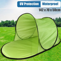 Camping Tent Pop Up Tent Summer Sea Polyester Sun Shelters Travel Hiking Beach Tent Garden Outdoor Water Camping Accessories