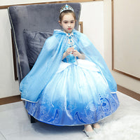 Princess Girl Dress Cinderella Girl Children Christmas Party Costume for Kids Girls Clothes Fantasy Kids Ball Wear Dress Up