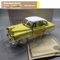 ARKO 1/32 Scale Classic Car Series 1954 Chevy Bel Air Sport Coupe Diecast Metal Car Model