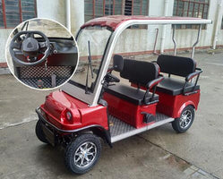 Professional Export Golf Course Cars Carrying Passengers Electric Passenger Four Wheels Old Scooters Adult 2020 New Style Truck