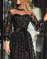 2020 New Sexy Plus Size Women Ladies Lace Mesh Midi Dresses Party  Gown Dress No Loss Fast delivery