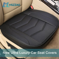 Ultra-Luxury Single Seat Without Backrest PU Senior Leather Car Seat Protection Car Seat Covers for Most Four-Door Sedan&SUV