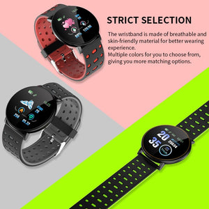 2020 Smart Bracelet Watch Man Wen Waterproof Blood Pressure Measurement Fitness Tracker Heart Rate Monitor Pedometer Smart Band