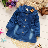 BibiCola autumn spring Korean children outerwear girls fashion cotton jacket clothes for baby girls