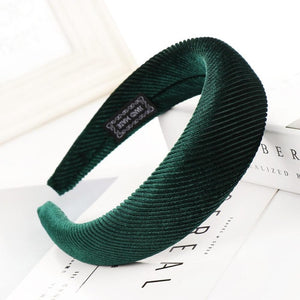 Haimeikang Thick Velvet Headband for Women Hair Accessories Fashion