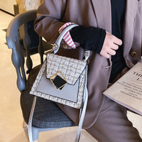 2020 New Ladies Fashion Shoulder Bags High Leather Luxury Cotton Leather Messenger Bags Designer Buckle Women's Travel Handbags