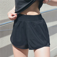 Ladies Outdoor exercise Plain Active Summer Cycling Shorts Stretch Basic Short Hot Solid