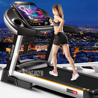 9009D Multi-function Home Treadmill 15.6 Inch Color Screen Wifi Version Of Super Quiet Folding Electric Treadmill Gym Equipment