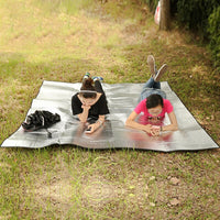2019 New Camping Mat Tent Mattress Waterproof Aluminum Foil EVA Collapsible Sleeping Picnic Beach Pad Outdoor Mat Multi-Size