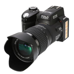 Professional Full HD DSLR HD 1920*1080 Digital Camera Video Support SD Card Optical Portable High Performance