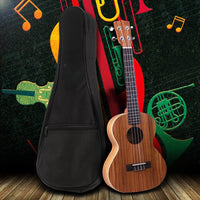 21 Inch  Portable Cotton Bag Ukulele Soft Case Gig Bag Waterproof Bags Hawaii Four String Guitar Backpack