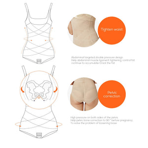 Siamese slimming underwear waist trainer sexy lingerie body shaper butt lifter tummy shaper  corset for posture body shapewear