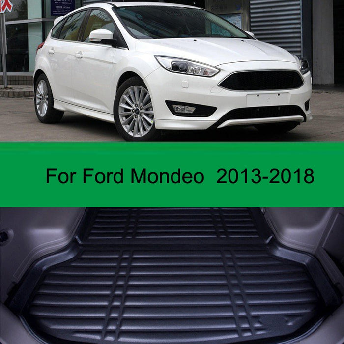 For Ford Mondeo 2013-2018 1PC Car Styling Cargo Liner Car Trunk Mat Carpet Interior Floor Mats