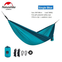 Naturehike Outdoor Camping Portable Backpacking Travel Picnic Garden Swing Hunting