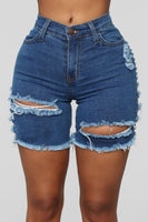 Summer woman trendy Ripped denim shorts fashion sexy high waist jeans shorts street hipster shorts clothes S-2XL 2020 new