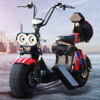 Bluetooth Music Electric Vehicle Built-in Speaker Adult Electric Bicycle Motorcycle Scooter Shock Absorption With Seat