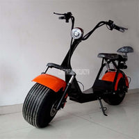 50-60KM Electric Vehicle Front and Rear Shock Absorption Double Person Seat Adult Electric Bicycle Motorcycle Scooter