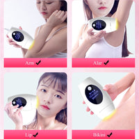 IPL Hair Removal Laser epilator painless Permanent Home Use Personal Care Appliances for Legs, Armpits, Bikini Line, Chest