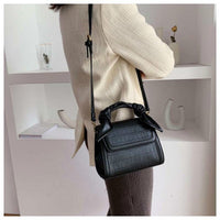 Alligator Vintage Stone Pattern Female 2019 New Luxury Famous Brand Simple Shoulder Messenger Fashion Handbag Women Tote Handbag