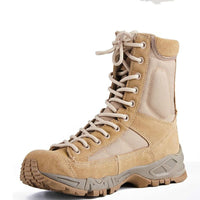 New Sport Army Men Combat Tactical Boots Outdoor Hiking Desert Leather Ankle Boots