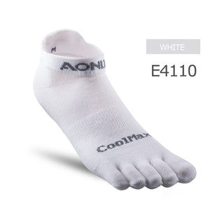 AONIJIE E4109 One Pair Low Cut Socks Quarter Athletic Toe Socks Perfect For Five Toed