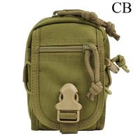 SINAIRSOFT Tactical Molle Pouch Belt Waist Pack Bag Small Pocket Military Running Pouch