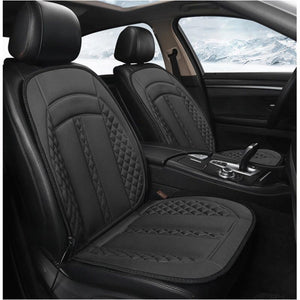 12V Heated Anti-Slipping Adjustable Car Seat Cushion Cover Warmer Winter Household Cushion Black Safe Seat Heater Universal