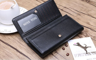 PU Leather Long Brand Design Large Capacity Ladie Wallet for Women with Phone Holder Change Purse Clearance Pink Red Black Girls