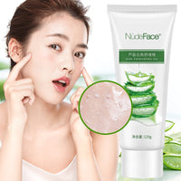 aloe exfoliating  gel Deep Cleansing Exfoliating Peeling Gel Moisturizes Face Exfoliating