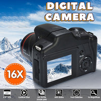 Professional Digital Camera 16X Digital Zoom 2.8 inch Screen CMOS Max 12MP Resolution HD 720P TV OUT Support Video