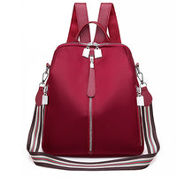 Bolsa Feminina Fashion Women Oxford Waterproof Backpack Anti-Theft Large Capacity Solid