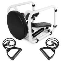 Multifunctional Mini Fitness Twist Stepper Electronic Display Exericse Workout Chair Seat Fitness Equipment for Gym Home