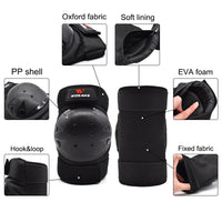 WOSAWE Motorcycle Elbow Knee Protector knee Protective Gear Cycling Skating Snowboarding Motocoss Knee Elbow Guards pads