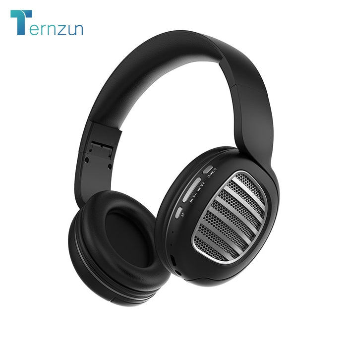 Wireless Bluetooth 5.0 Noise Cancelling Headphone Stereo Low Cannon Sound Foldable Gaming
