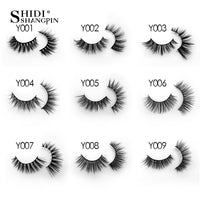 SHIDISHANGPIN 10 pairs lashes False Eyelashes Mink Eyelashes Mink Lashes Natural Dramatic Volume Eyelashes Extension Fake Lashes