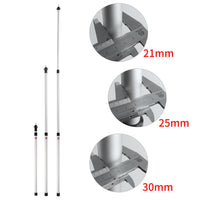 6061 Aluminium Alloy 3-Section Camping Tent Awning Support Rod Canopy Pole Outdoor Camping Hiking Tents Accessories